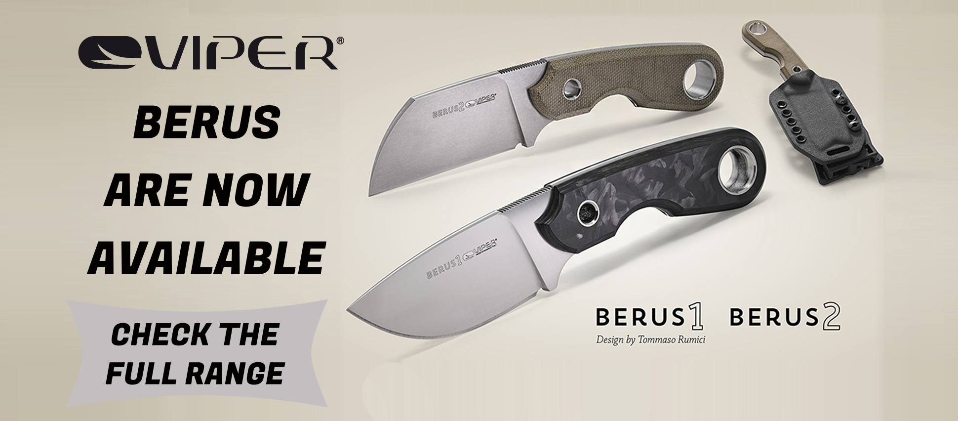 VIPER BERUS AVAILABLE